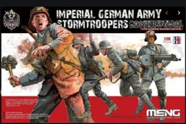 Imperial German Army Stormtroopers WW I