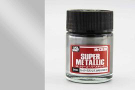 Super Stainless metallic Mr. Super Metal Color solvent-based paint 18 ml.