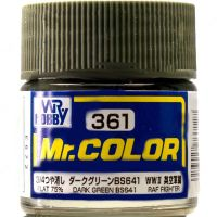 Mr. Color  (10 ml) Dark Green BS641