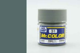 Dark Gray 1 semigloss US Naval Vessel, Mr. Color solvent-based paint 10 ml.