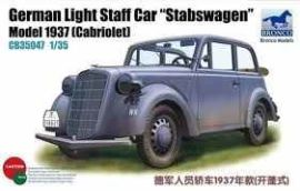 German Opel Light Staff Car 'Stabswagen' Mod.1937(Cabriolet)