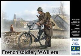 """French soldier, WWII era"""