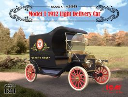 обзорное фото Model T 1912 Light Delivery Car Автомобили 1/24
