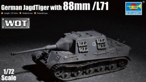 обзорное фото German JagdTiger with 88mm /L71 Бронетехника 1/72