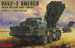 обзорное фото 9A52-2 SMERCH RUSSIAN LONG-RANGE ROCKET LAUNCHER Автомобили 1/35