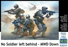 "обзорное фото ""No Soldier left behind - MWD Down""          Фигуры 1/35"