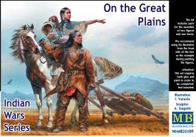 "обзорное фото ""Indian Wars Series. On the Great Plains""   Фигуры 1/35"
