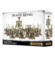 обзорное фото SKAVEN PESTILENS PLAGUE MONKS Чумные Скавены
