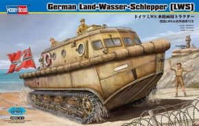 German Land-Wasser-Schlepper (LWS) amphibious tractor Early production