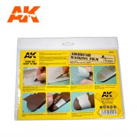 обзорное фото AK AIRBRUSHING MASKING FILM (2 UNITS) Разное