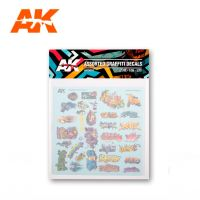 обзорное фото ASSORTED GRAFFITI DECALS Разное