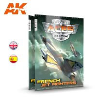 обзорное фото ACES HIGH MAGAZINE ISSUE 15 FRENCH JET FIGHTERS Журналы