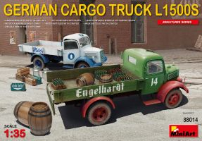 обзорное фото German Cargo Truck L1500S type Автомобили 1/35