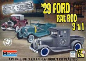 обзорное фото 1929 Ford Rat Rod Автомобили 1/25