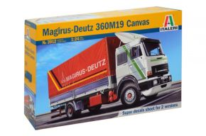 обзорное фото Magirus Deutz 360M19 Canvas Автомобили 1/24