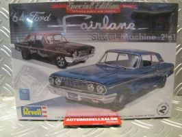 обзорное фото Ford Fairlane Street Machine  Автомобили 1/25