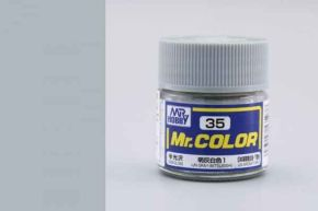 IJN Gray Mitsubishi semigloss IJN Aircraft WWII, Mr. Color solvent-based paint 10 ml.