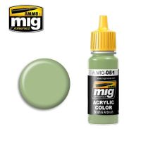 MEDIUM LIGHT GREEN