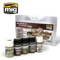 GERMAN CAMO WEATHERING SET