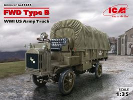 обзорное фото FWD Type B, WWI US Army Truck Автомобили 1/35