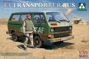 обзорное фото Bundeswehr T3 Transporter Bus(with figure) Автомобили 1/35