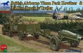 обзорное фото 75mm Howitzer M1A1 (British Version) Автомобили 1/35