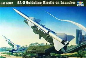 Sam-2 Missile with Launcher Cabin