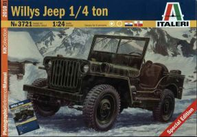 обзорное фото Willys Jeep 1/4 ton Автомобили 1/24