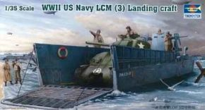 обзорное фото WW II US Navy LCM(3) Landing craft Флот 1/35