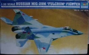 "обзорное фото Russian MIG-29M ""Fulcrum"" Fighter Самолеты 1/32"