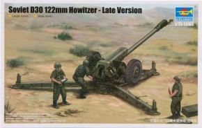 Soviet D30 122mm Howitzer - Late Version