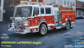 обзорное фото LaFrance Eagle Fire Pumper2002 Автомобили 1/25