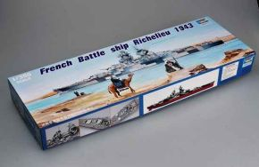 обзорное фото French battleship Richelieu Флот 1/350