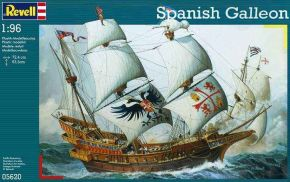 обзорное фото Spanish Galleon Флот 1/72