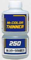 обзорное фото Mr. Color Solvent-Based Paint Thinner, 250 ml. Растворители