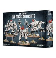 обзорное фото TAU EMPIRE XV8 CRISIS BATTLESUITS Империя ТАУ