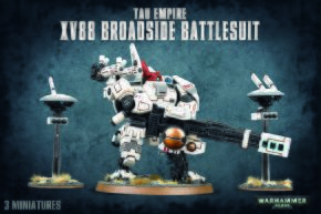 обзорное фото TAU EMPIRE XV88 BROADSIDE BATTLESUIT Империя ТАУ