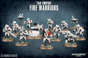 обзорное фото TAU EMPIRE FIRE WARRIORS Империя ТАУ