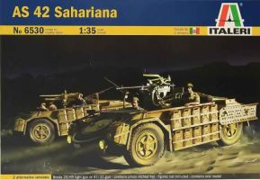 "обзорное фото AS-42 ""Sahariana""  Автомобили 1/35"