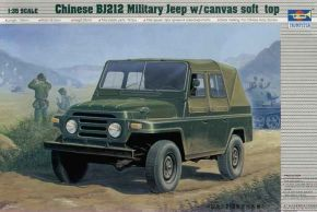 Chinese BJ212 Military Jeep