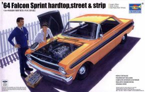 обзорное фото 64 Sprint hardtop,[street & strip] Автомобили 1/25