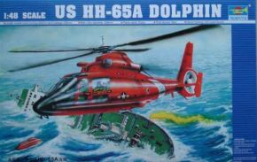 обзорное фото Helicopter - US  HH-65A Dolphin Вертолеты 1/48