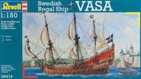 обзорное фото Swedish Regal Ship VASA Флот 1/150