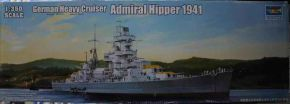 обзорное фото German Cruiser Admiral Hipper 1941 Флот 1/350