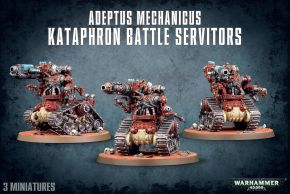 обзорное фото ADEPTUS MECHANICUS KATAPHRON BATTLE SERVITORS Адептус Механикус
