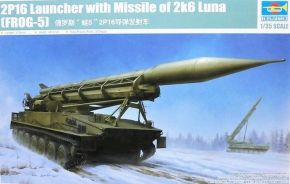 обзорное фото 2P16 Launcher with Missile of 2k6 Luna (FROG-5) Бронетехника 1/35