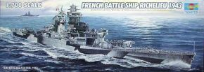обзорное фото French Navy RICHELIEU 1943 Флот 1/700