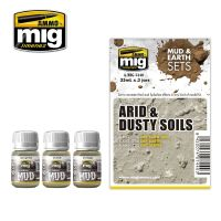 ARID & DUSTY SOILS (MUD & EARTH)