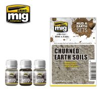 CHURNED EARTH SOILS (MUD & EARTH)