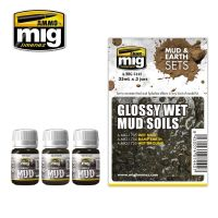 GLOSSY WET MUD SOILS (MUD & EARTH)